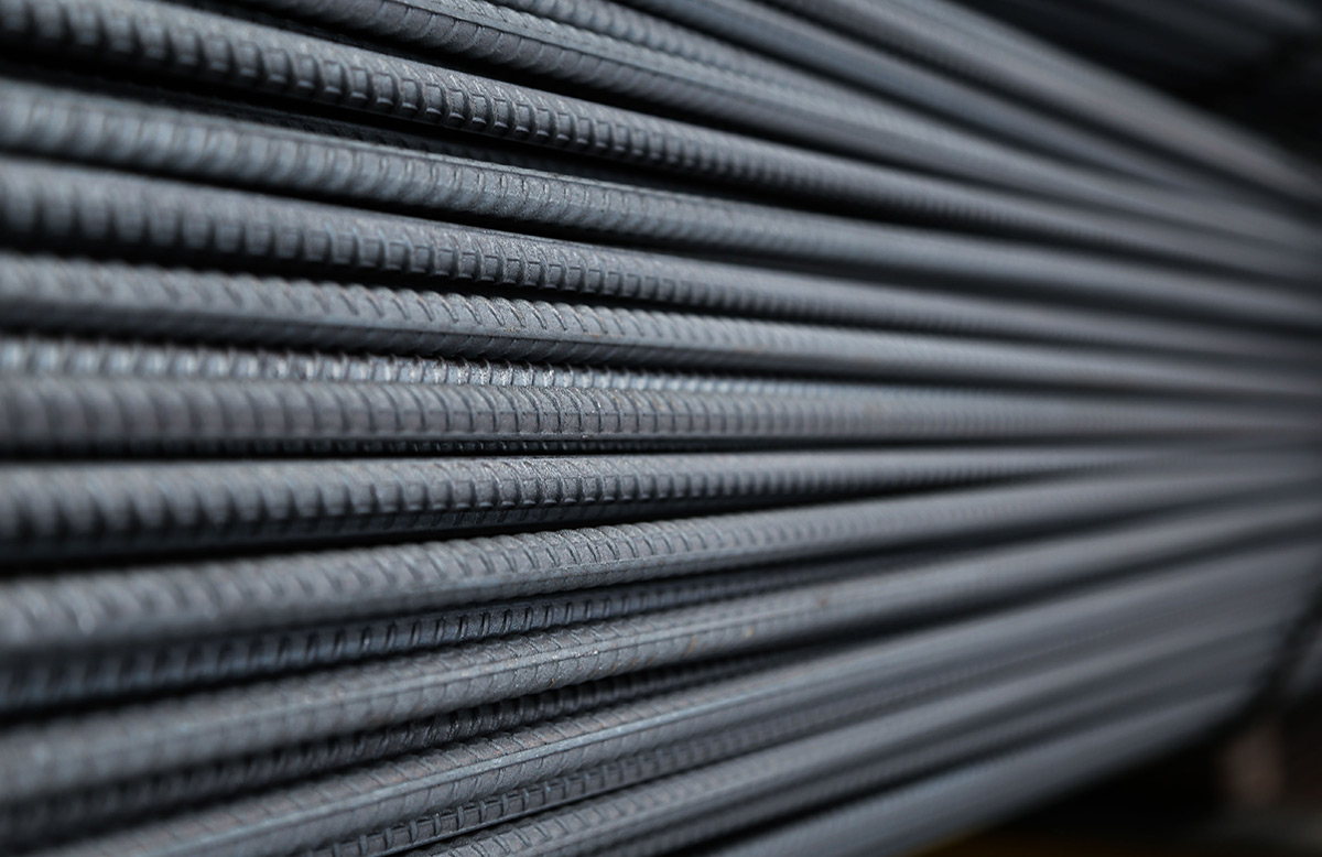 Mesh & Bar Pty Ltd use 500 Mpa Reinforcing Steel from both long bar and  coil products that are manufactured from fully recycled material.